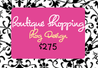 Boutique Blog Design